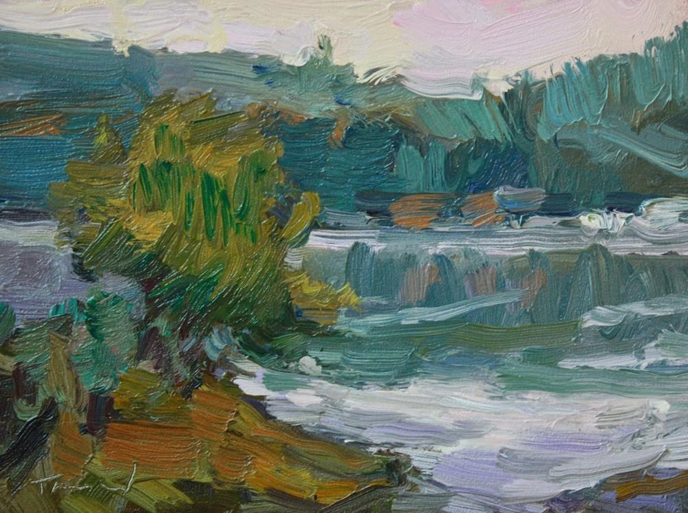 """Hood Canal"" original fine art by Kathryn Townsend"