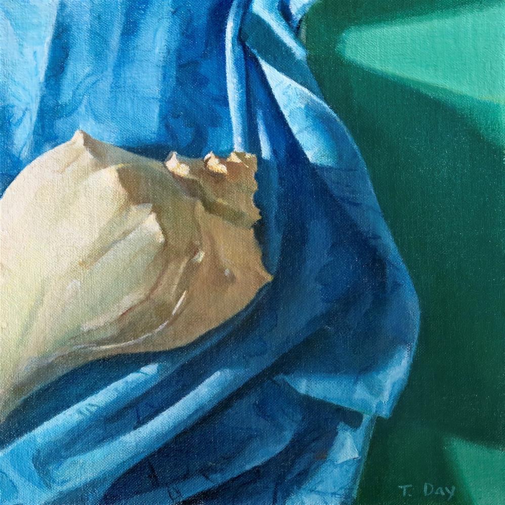 """""""Spiral and Twist"""" original fine art by Taryn Day"""