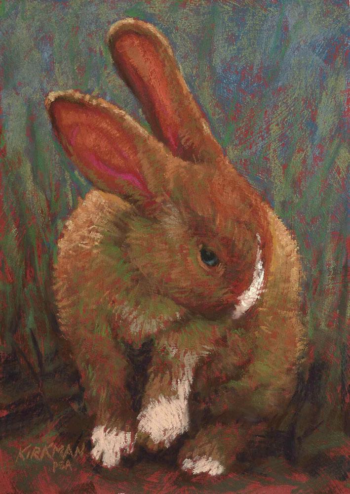 """Tobias"" original fine art by Rita Kirkman"