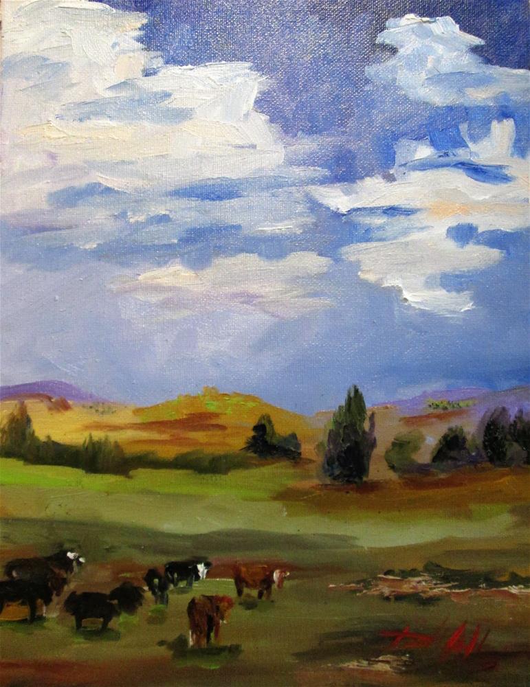 """""""Boulder Colorado"""" original fine art by Delilah Smith"""