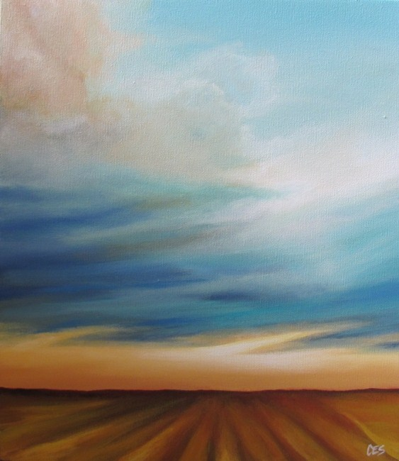 """The Field"" original fine art by ~ces~ Christine E. S. Code"