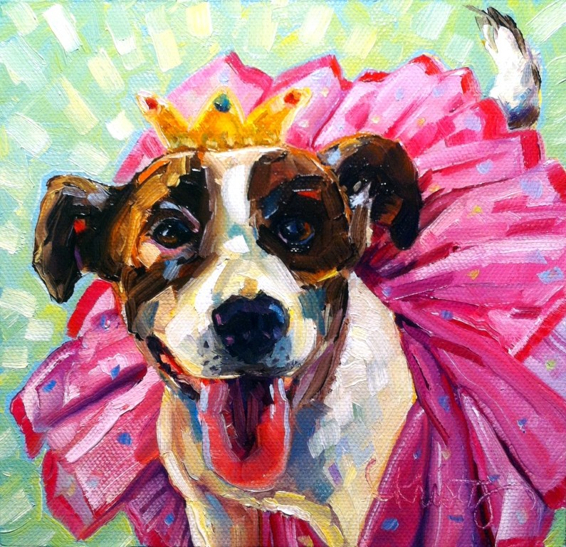 """""""READY FOR MY CLOSE-UP"""" original fine art by Kristy Tracy"""