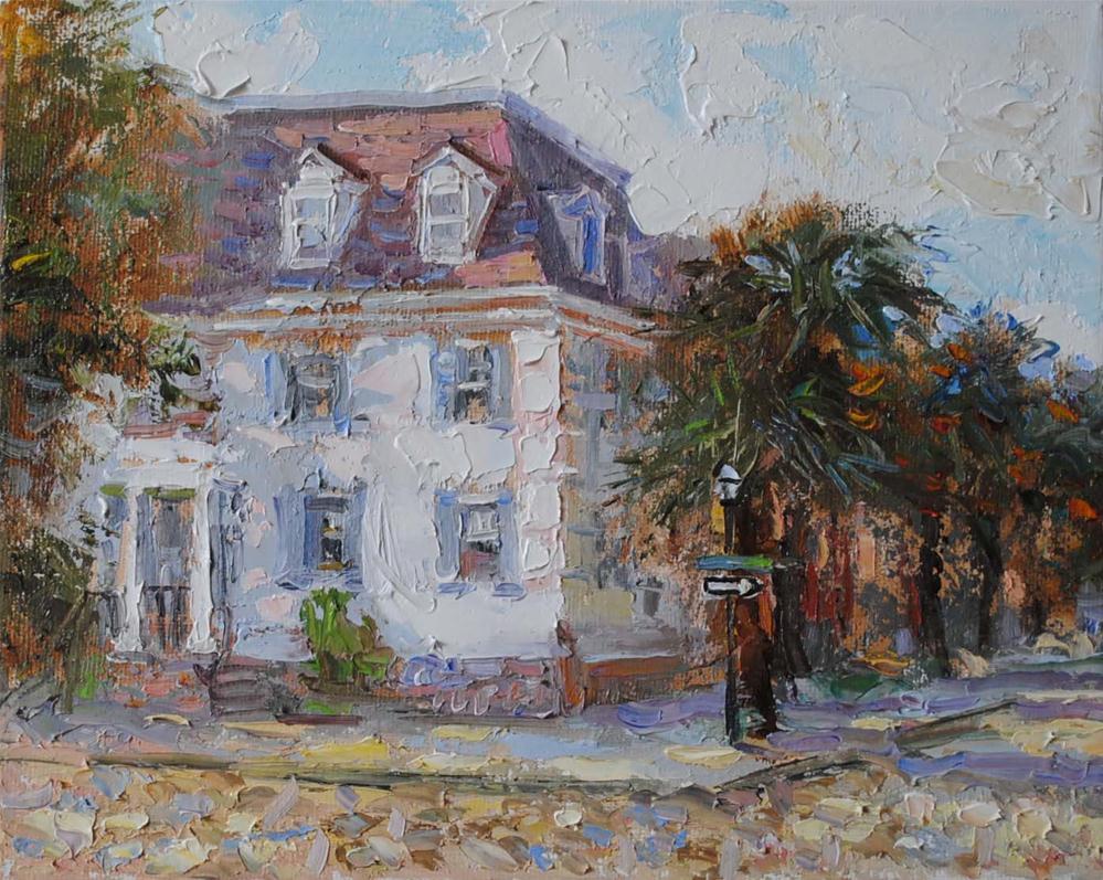 """""""Charleston Street"""" original fine art by Elena Katsyura"""