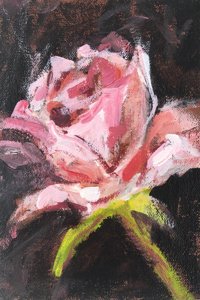 """Rose"" original fine art by Susan Elizabeth Jones"