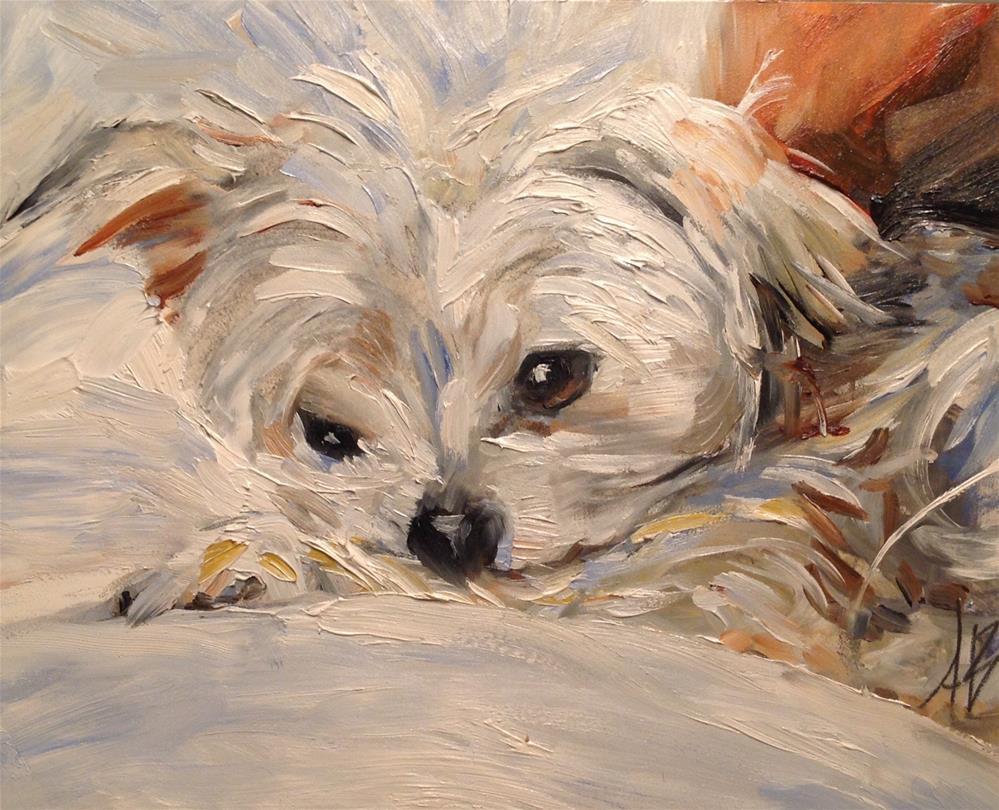 """Cozy time"" original fine art by Annette Balesteri"