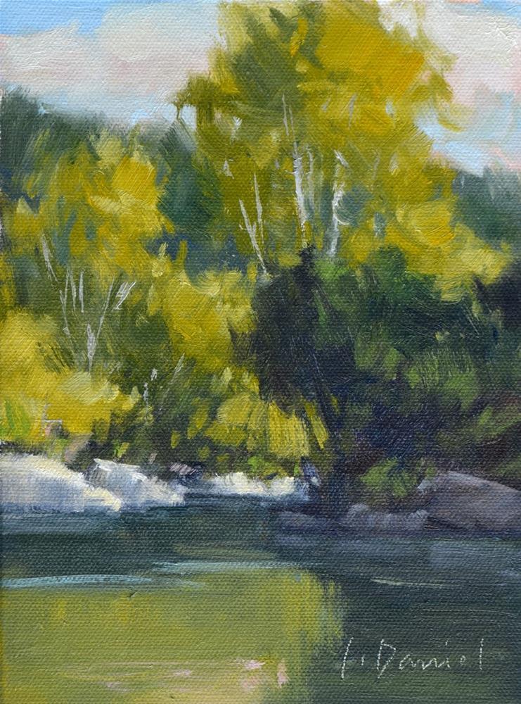"""Summer Creek Study"" original fine art by Laurel Daniel"