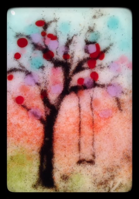 """""""Tiniest of Trees for Today"""" original fine art by Kelly Alge"""