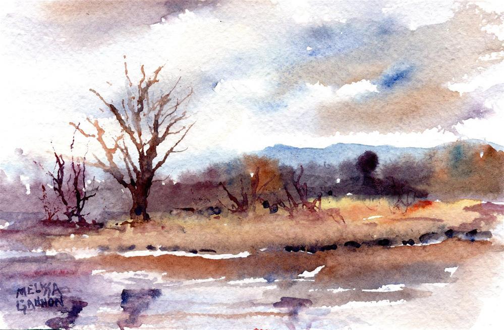 """""""A Day at Ridgefield Wildlife Refuge"""" original fine art by Melissa Gannon"""
