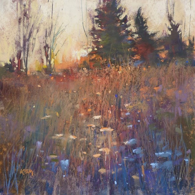 """""""An Easy Tip for Finishing a Painting"""" original fine art by Karen Margulis"""