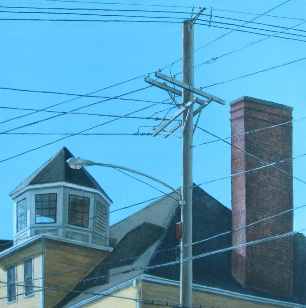 """Intersection"" original fine art by Debbie Shirley"