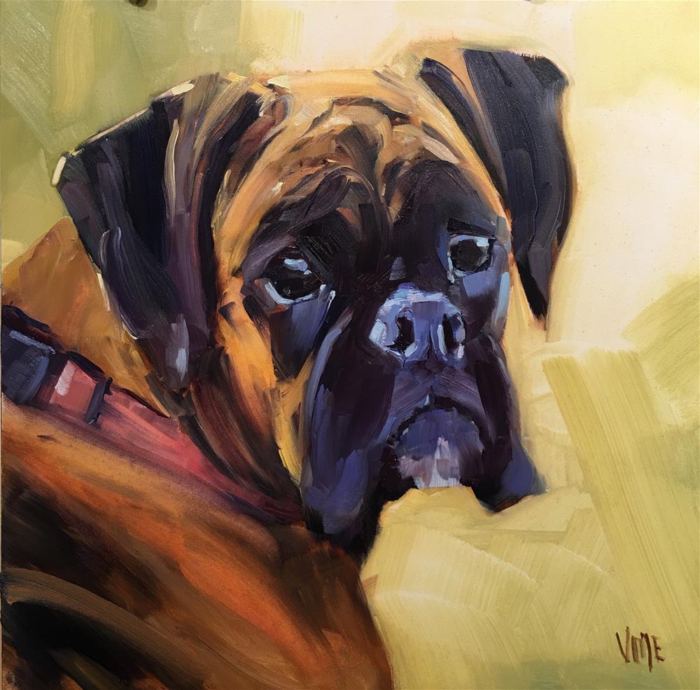 """402 Mabel"" original fine art by Patty Voje"