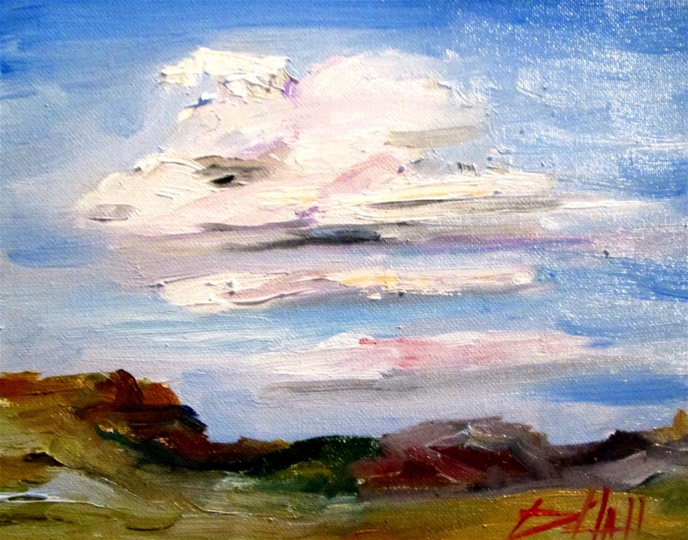 """Clouds"" original fine art by Delilah Smith"