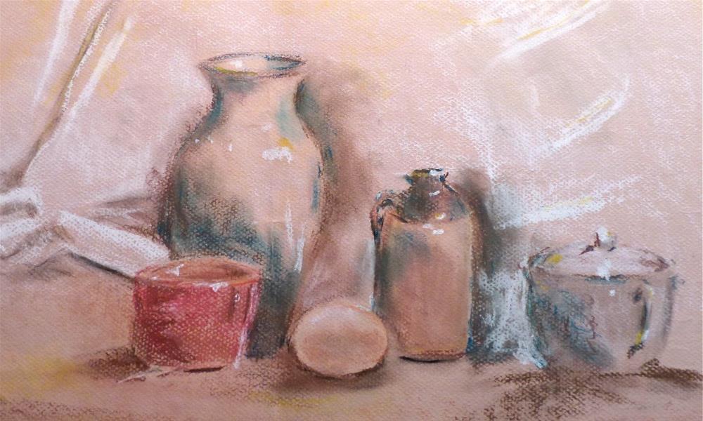 """Still Life with Egg"" original fine art by Judith Freeman Clark"