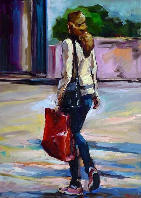 """unterwegs"" original fine art by Jurij Frey"