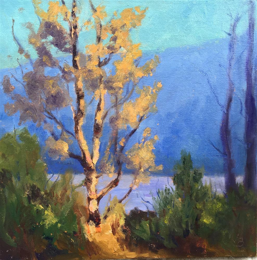 """Spotlight"" original fine art by Victoria  Biedron"