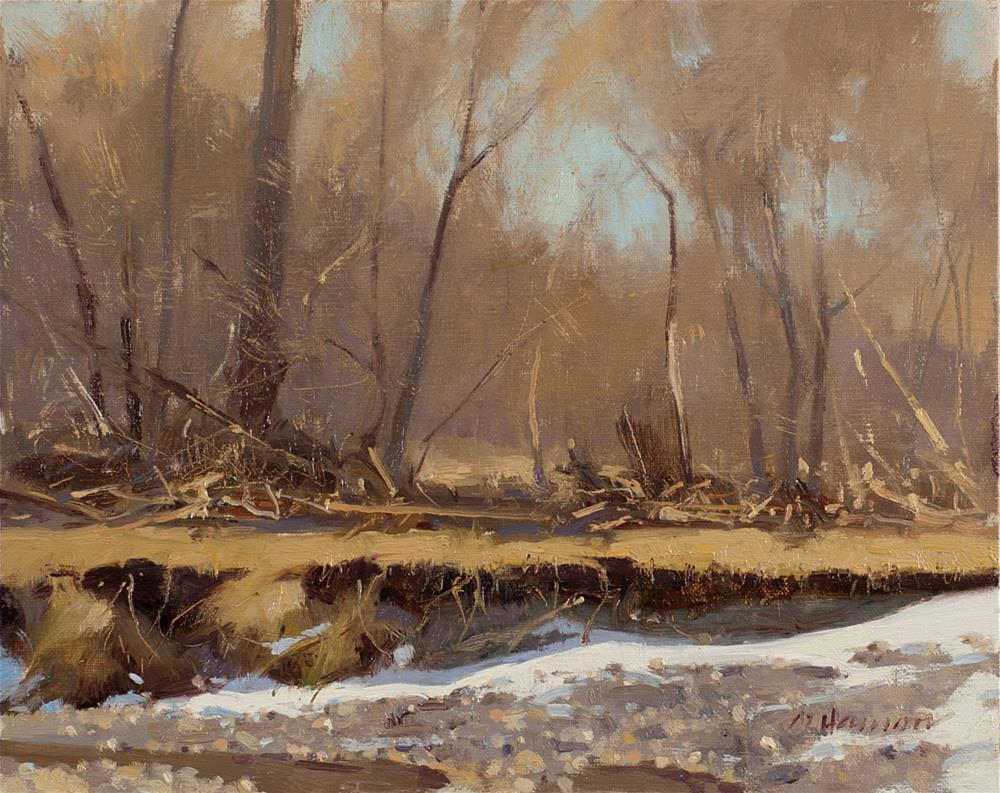 """2-14-3 Eroded"" original fine art by Marc Hanson"