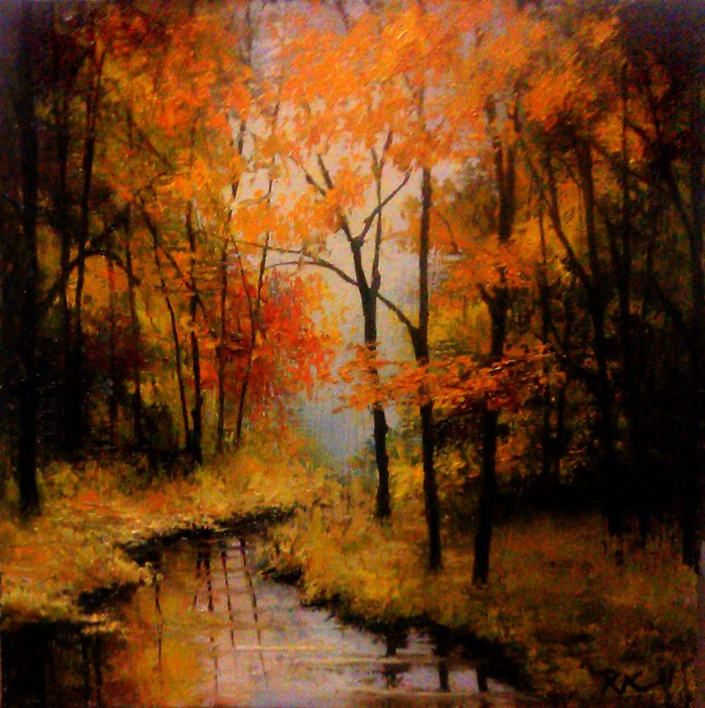 """Virgin River Bend"" original fine art by Bob Kimball"