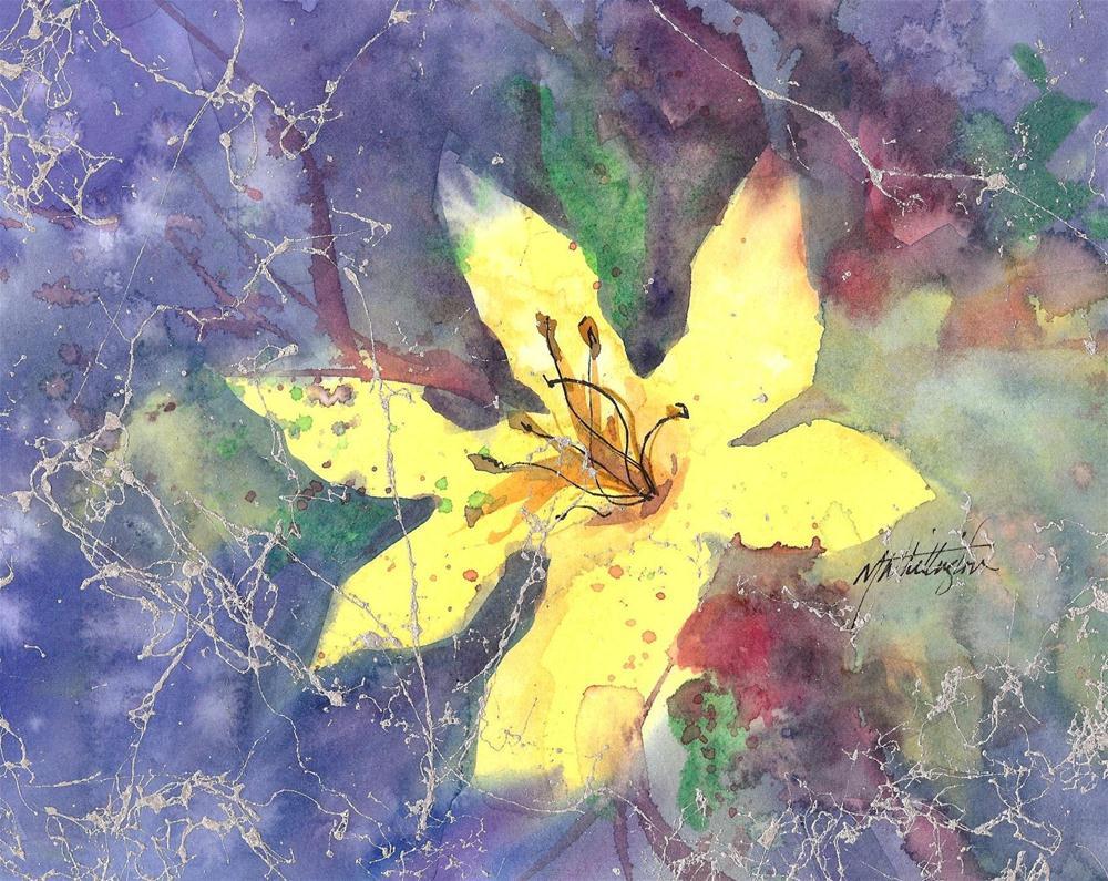 """Day Lily"" original fine art by Margie Whittington"
