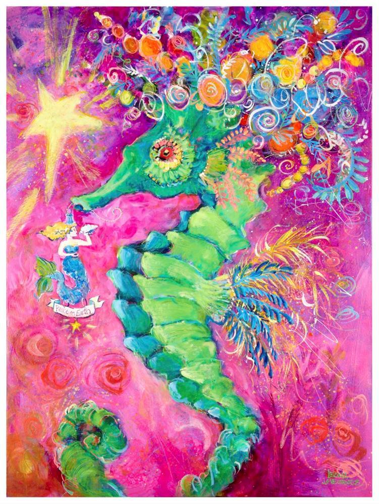 """Sugar Plum Fairy"" original fine art by Leoma Lovegrove"