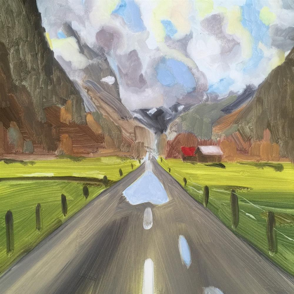 """178 After the Rain"" original fine art by Jenny Doh"