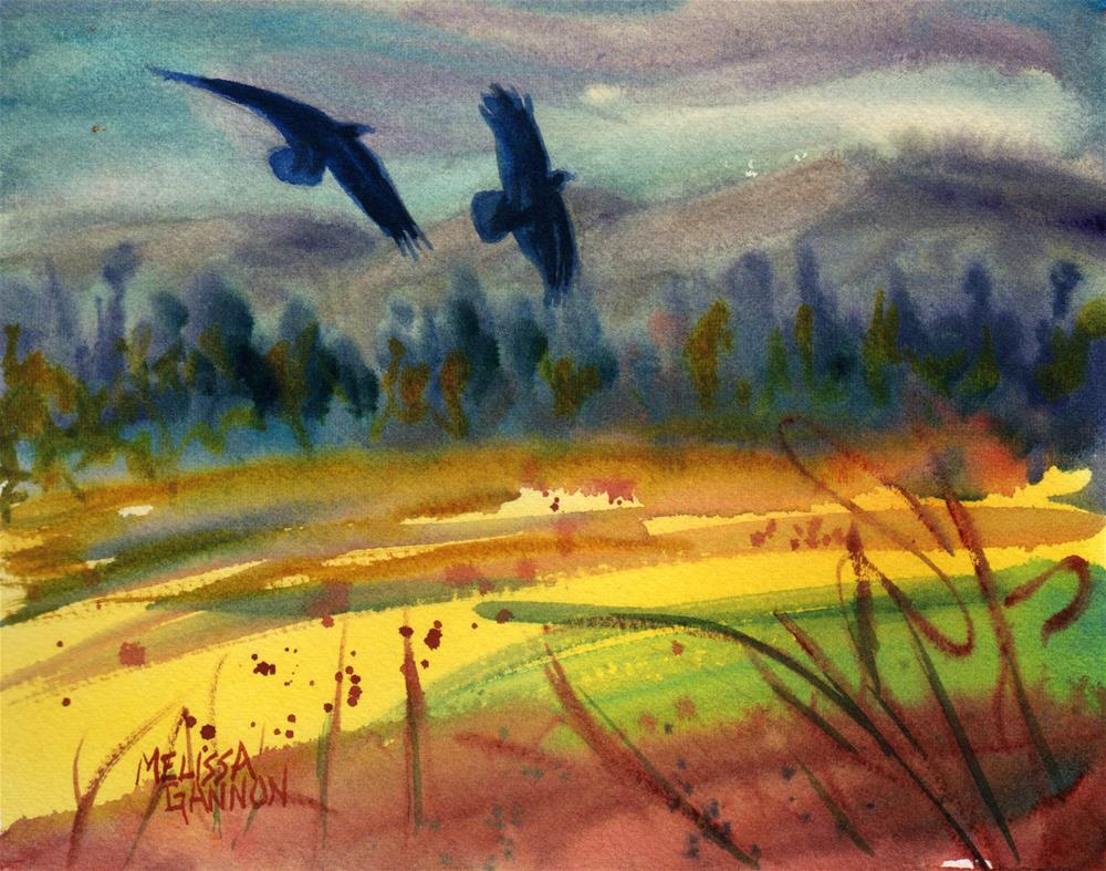 """Flight!"" original fine art by Melissa Gannon"