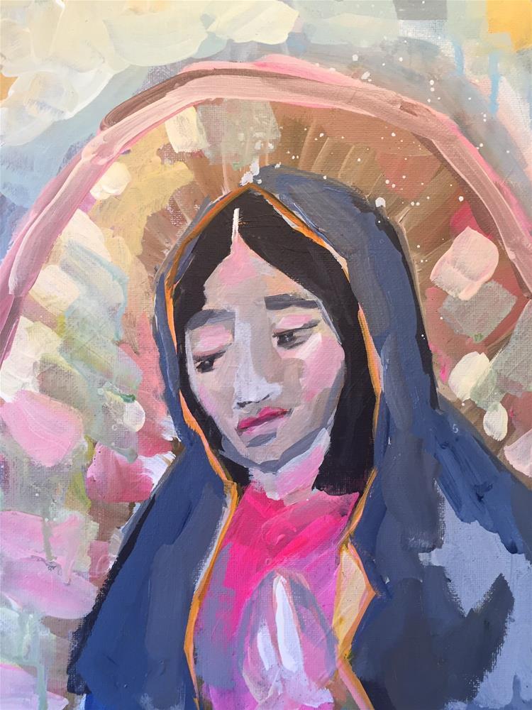 """""""346 Virgin"""" original fine art by Jenny Doh"""