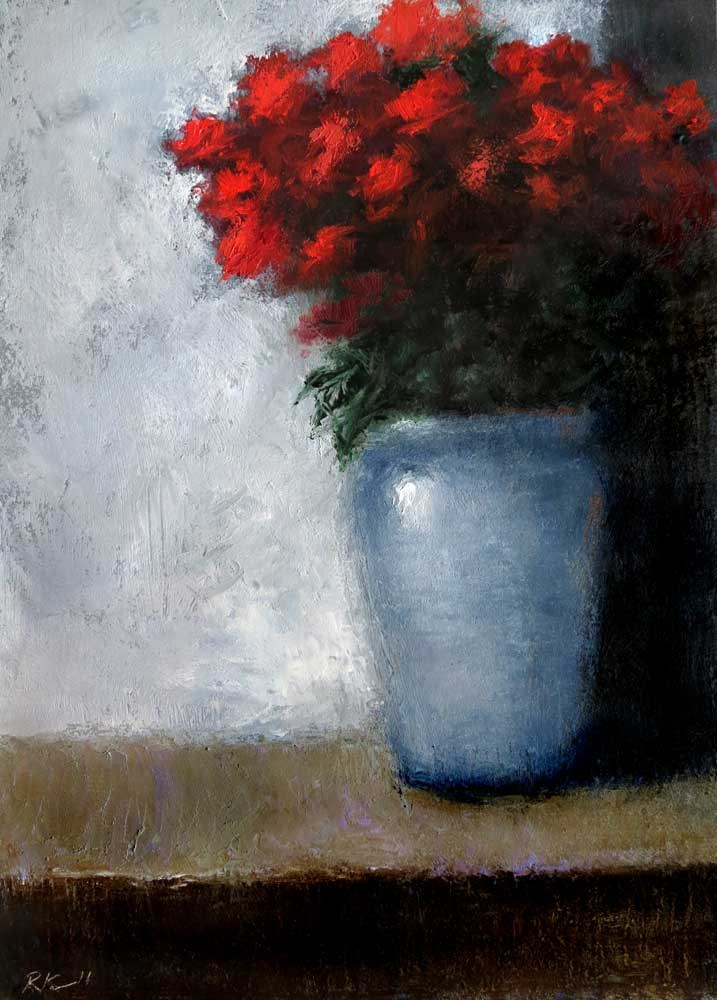 """""""A Bouquet of Roses"""" original fine art by Bob Kimball"""