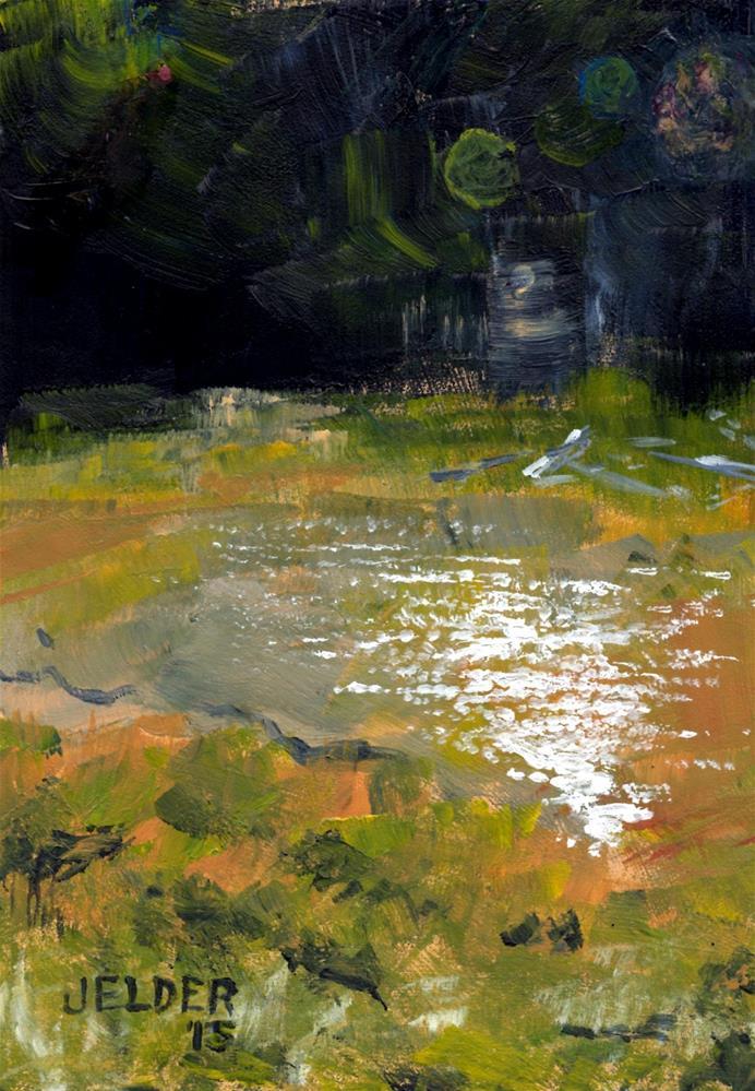 """On Camano"" original fine art by Judith Elder"