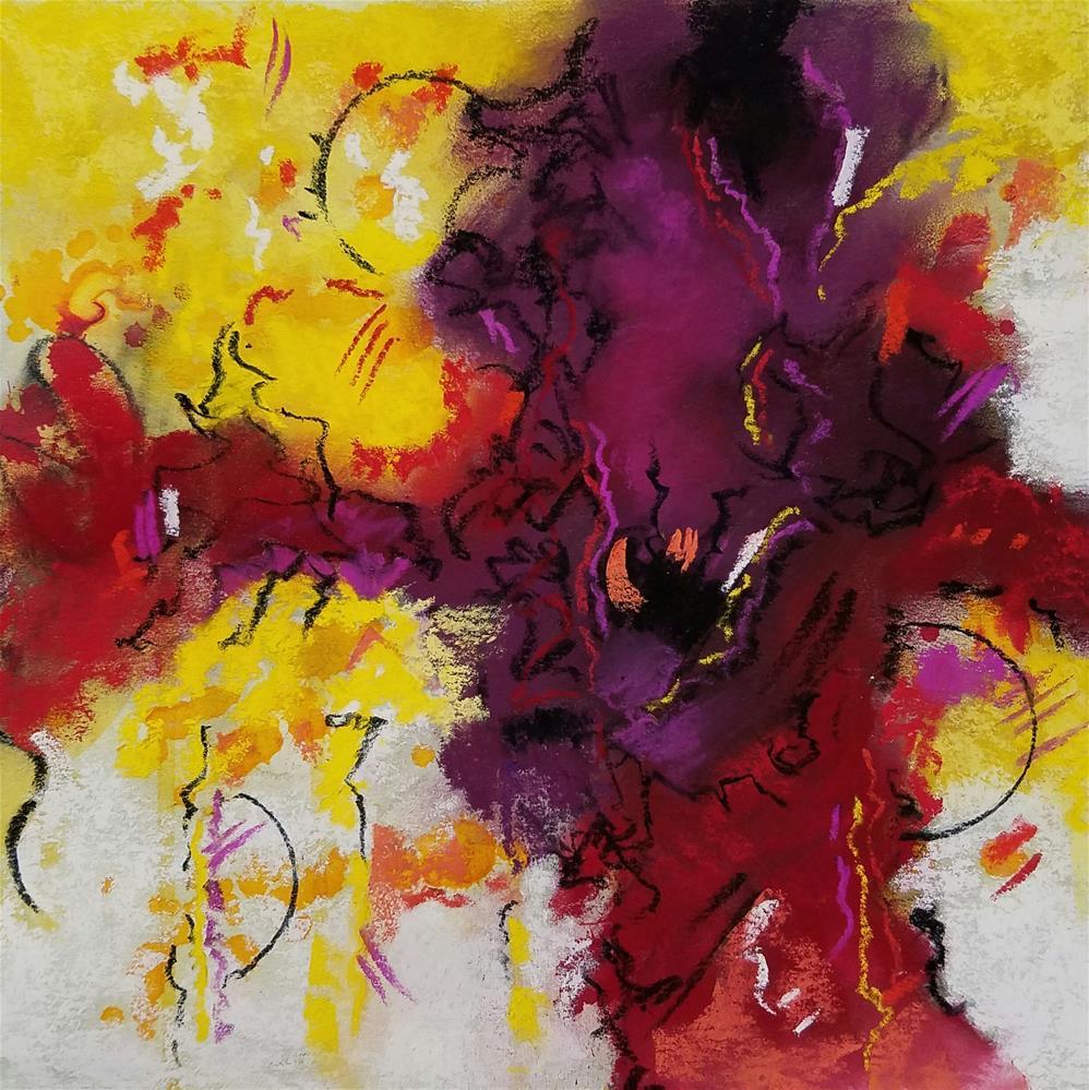 """Untitled 102"" original fine art by Cindy Haase"