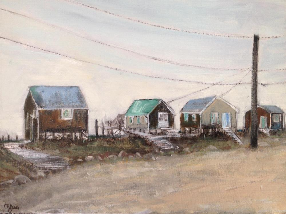 """Boathouse Row"" original fine art by christina glaser"