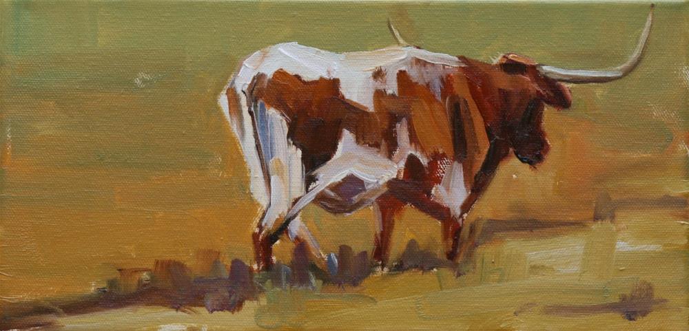 """to the barn"" original fine art by Carol Carmichael"
