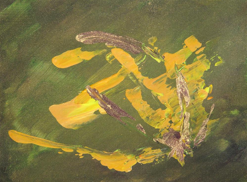 """""""Flower"""" original fine art by Anna Starkova"""
