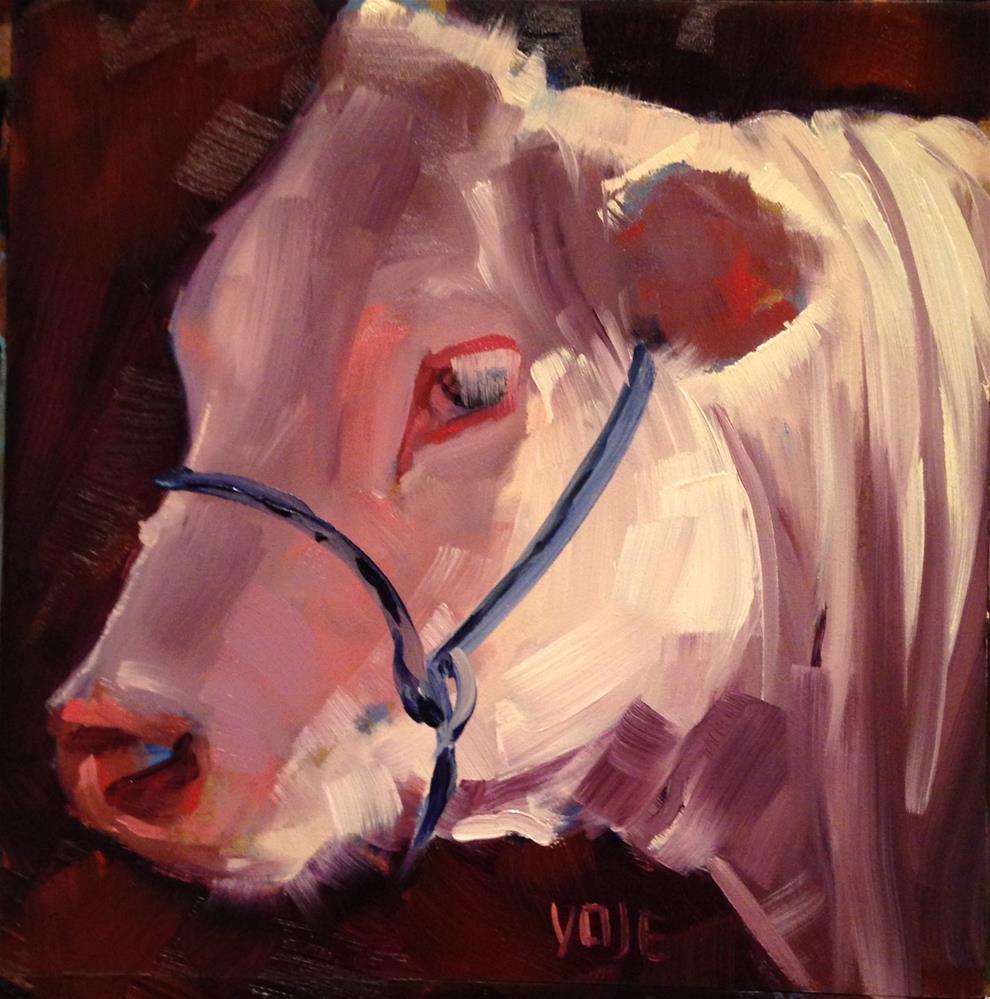 """#166 End of Day"" original fine art by Patty Voje"