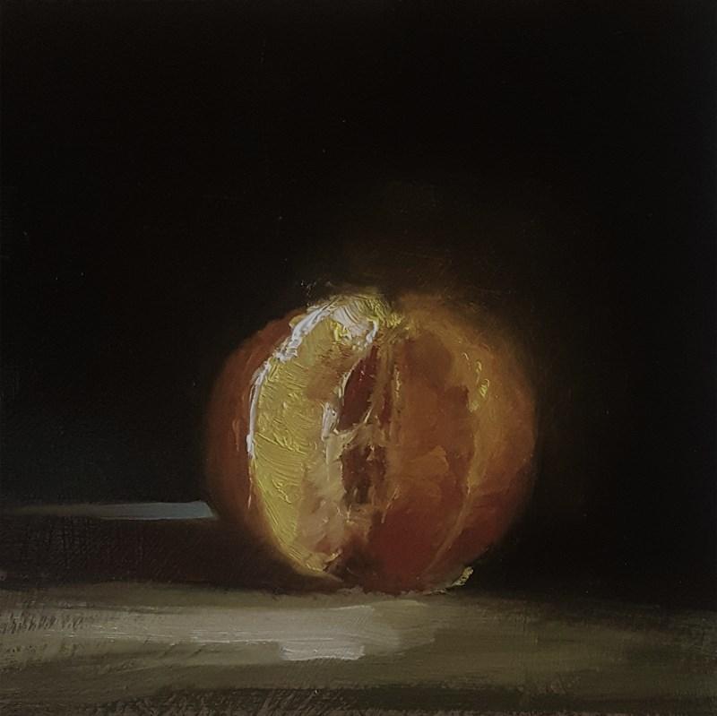 """Cut Clementine"" original fine art by Neil Carroll"