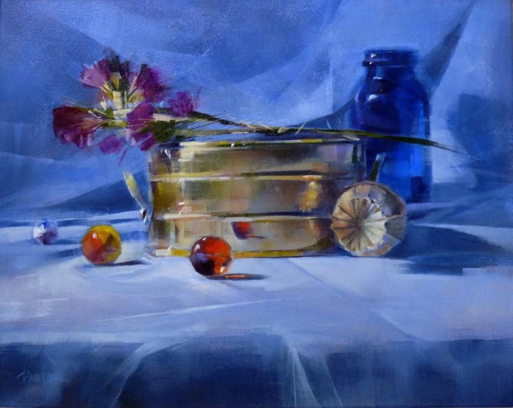 """When All Is Said And Done"" original fine art by Barbara Benedetti Newton"