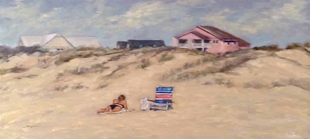 """""""Noon at Emerald Isle"""" original fine art by Shelley Koopmann"""