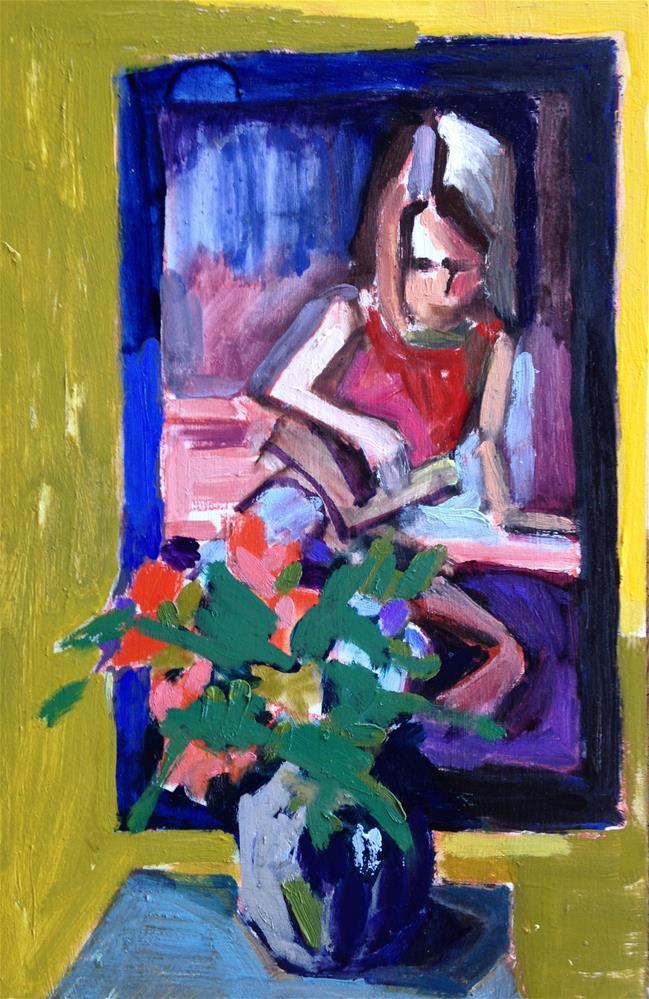 """""""Lovlies in Front of A Beauty"""" original fine art by Pamela Hoffmeister"""