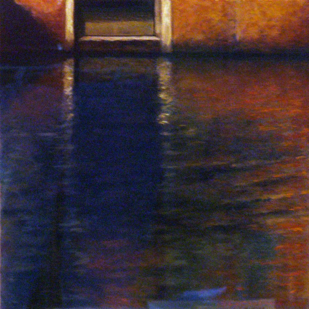 """Near Santa Maria Formosa"" original fine art by Joe Fitzgerald"