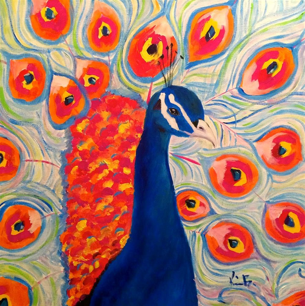 """""""A bird of his feather"""" original fine art by Kimberly Balentine"""