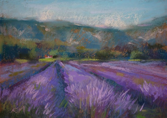 """My Paintings from Provence and What I Used to Paint Them"" original fine art by Karen Margulis"