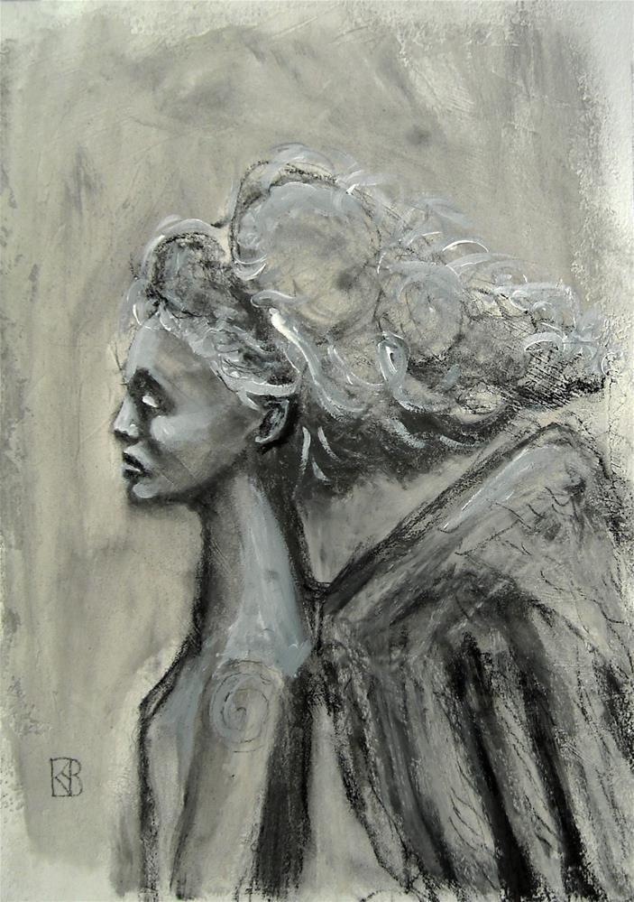 """Angel for Orlando"" original fine art by Kathleen Barnes"