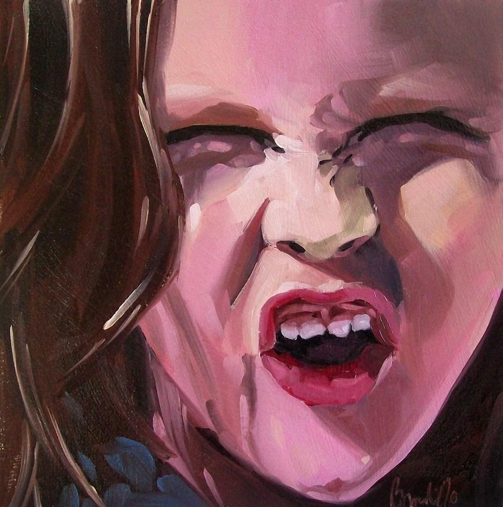 """Girl 6"" original fine art by Brandi Bowman"