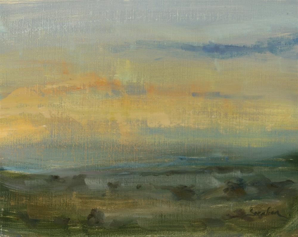 """Country Morning "" original fine art by Scott Serafica"