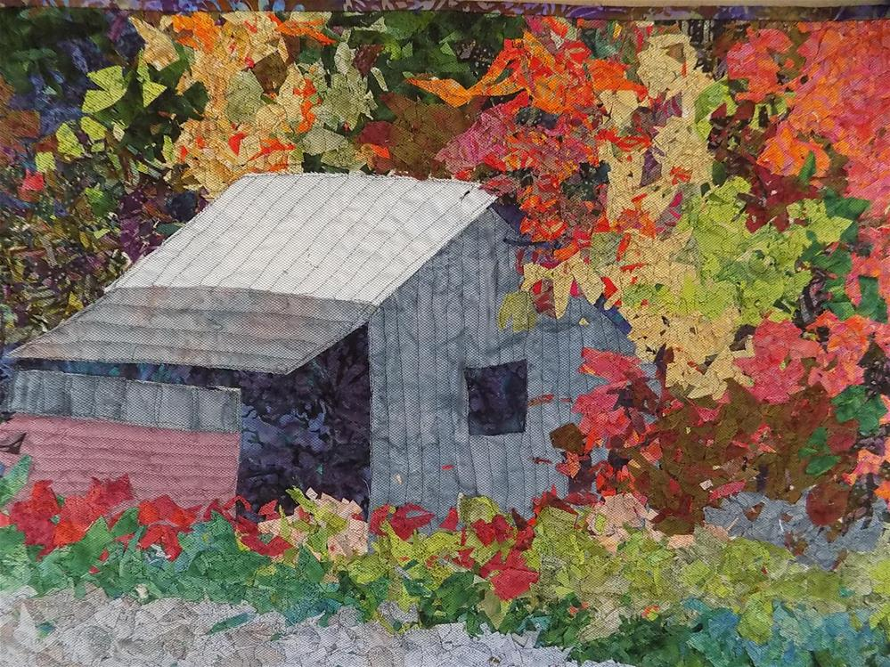 """The Old Shack"" original fine art by Joan Reive"