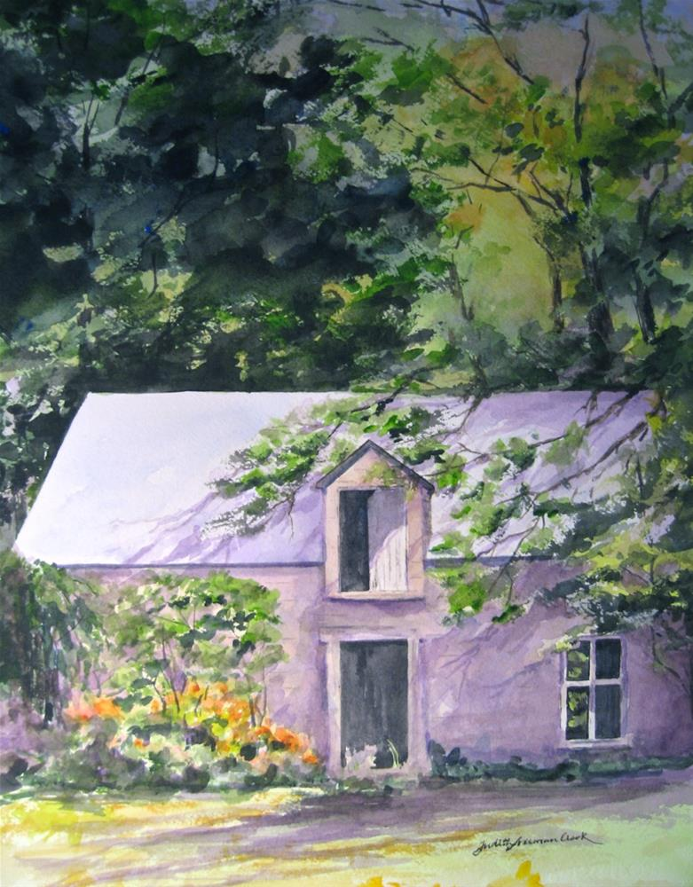 """Hidden Storehouse"" original fine art by Judith Freeman Clark"