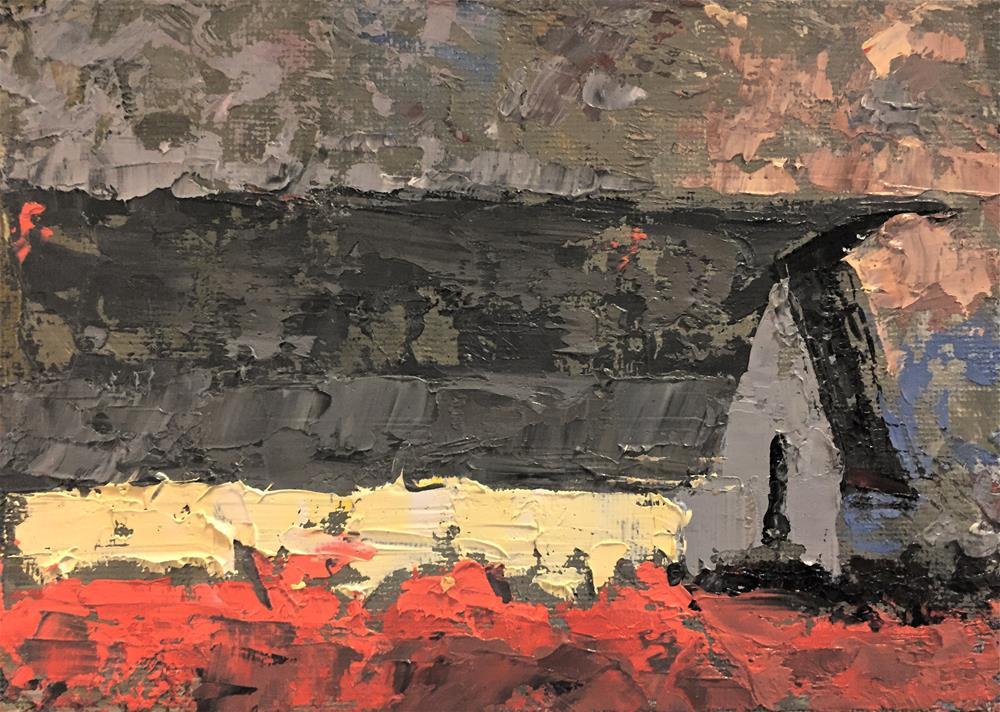 """0892/DPW"" original fine art by Dennis Pearson"