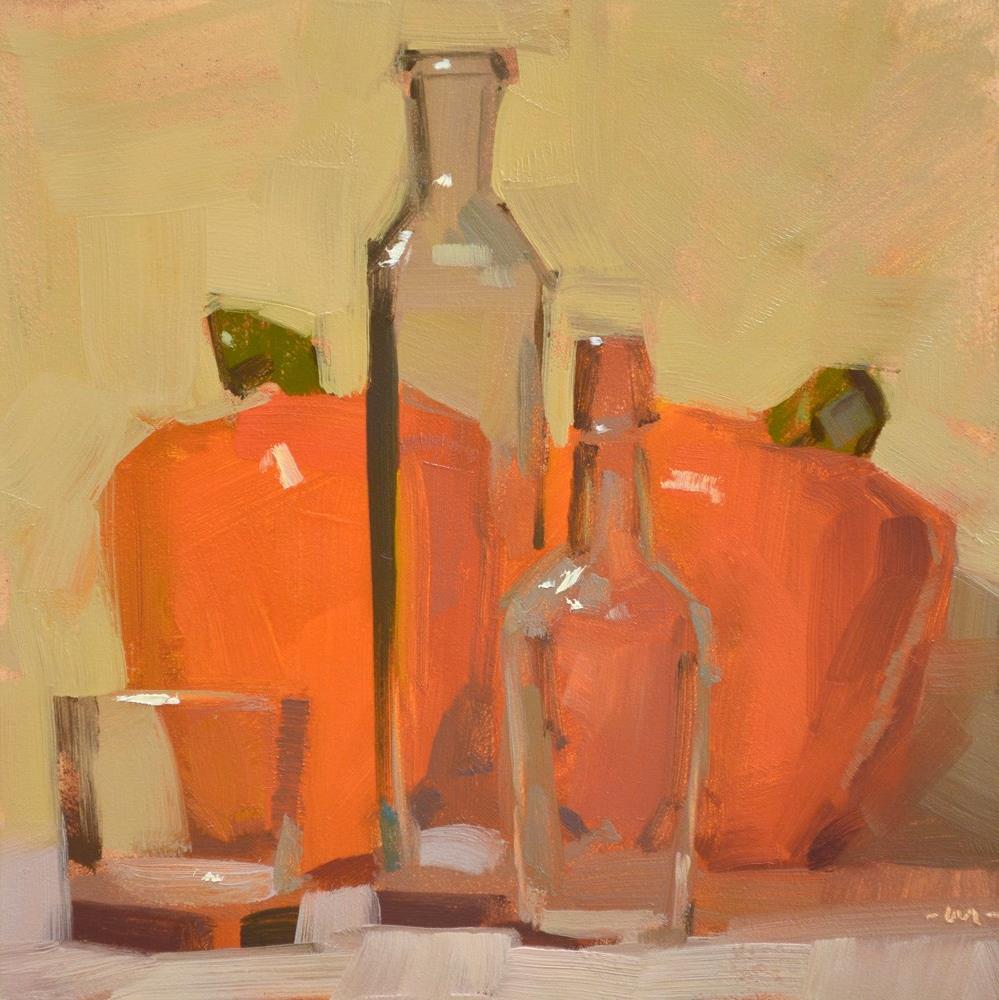 """Blending In"" original fine art by Carol Marine"