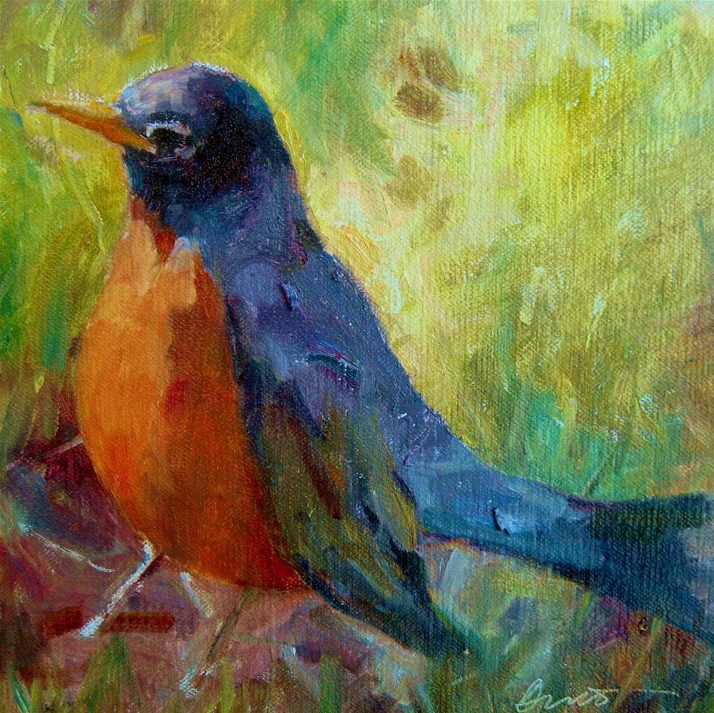 """Summer Singer"" original fine art by Scarlet Owl Studio"