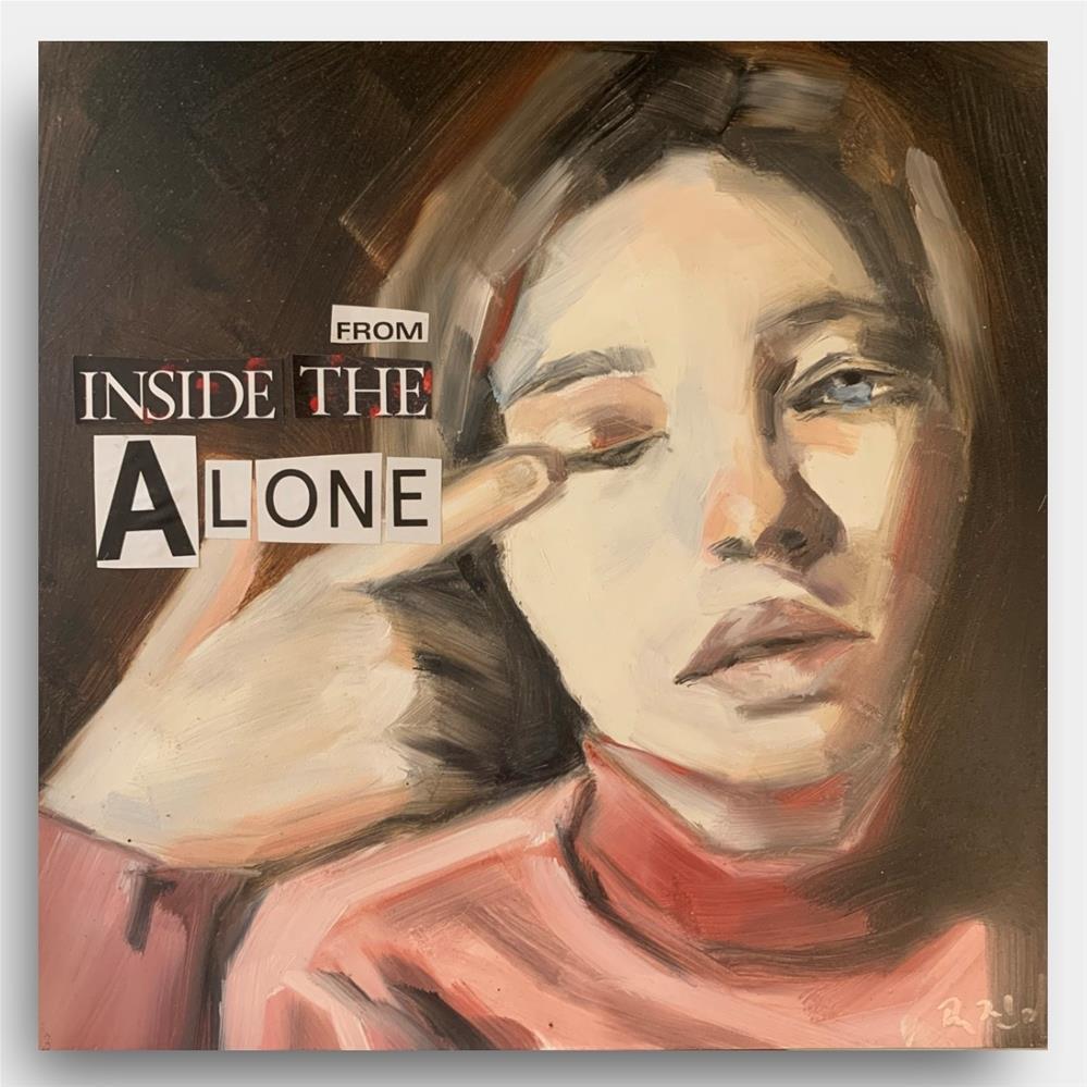"""863 From Inside the Alone"" original fine art by Jenny Doh"