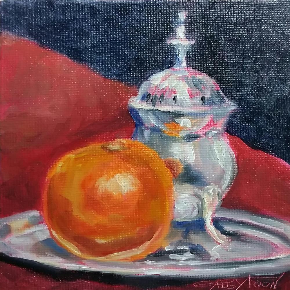 """Still Life"" original fine art by Gabriella DeLamater"
